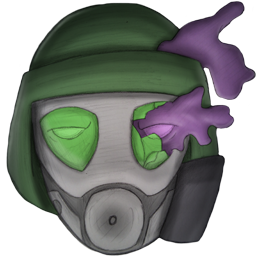 Gas mask thing Spray preview