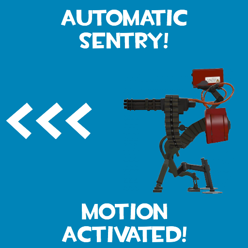 Automatic Sentry! (Motion Detected) Spray preview