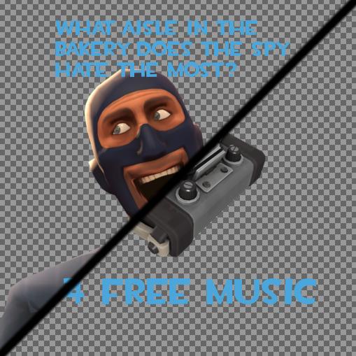 A Spy Joke [FADING] Spray preview