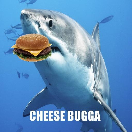 Shark eating chees bugga spray preview