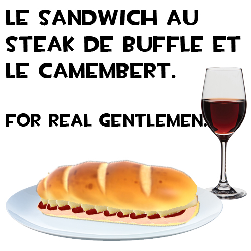 Sandwich au Steak de Buffle preview