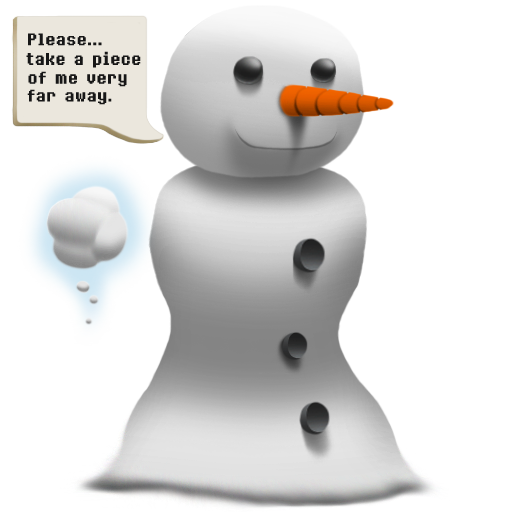 A Lonely Snowman Spray preview