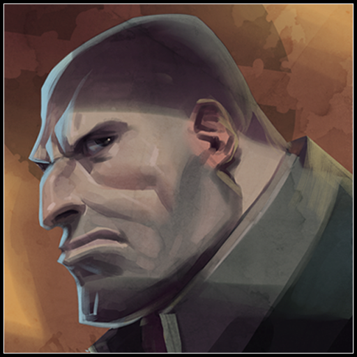 Heavy's Face Portrait Spray preview