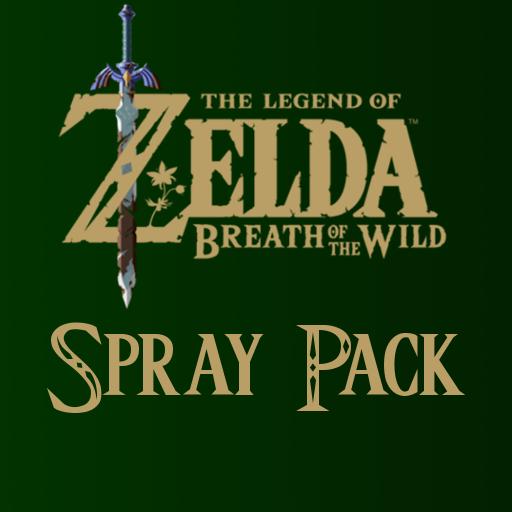 Zelda: Breath of the Wild Spray Pack Spray preview