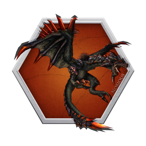 Black Flying Wyvern