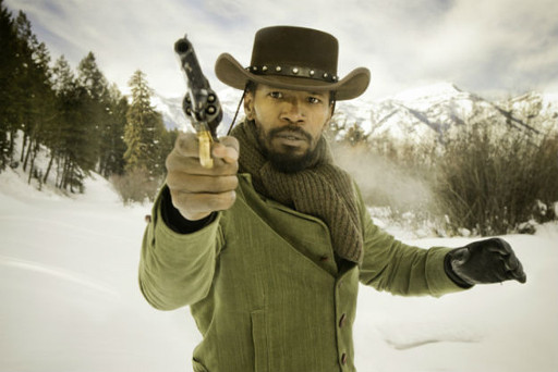 Django Unchained-snow scene spray Spray preview