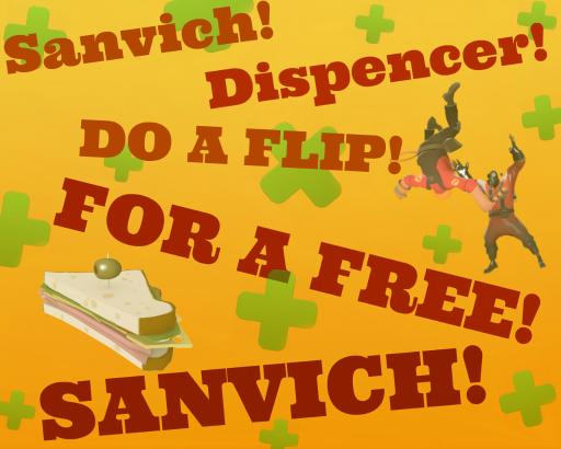 Sanvich Dispencer! Spray preview