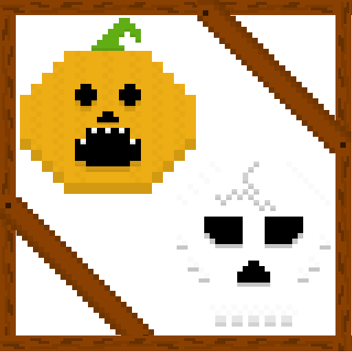 Pumpkin and Skull Spray preview