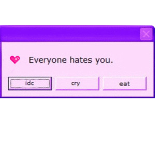 Everyone hates you preview