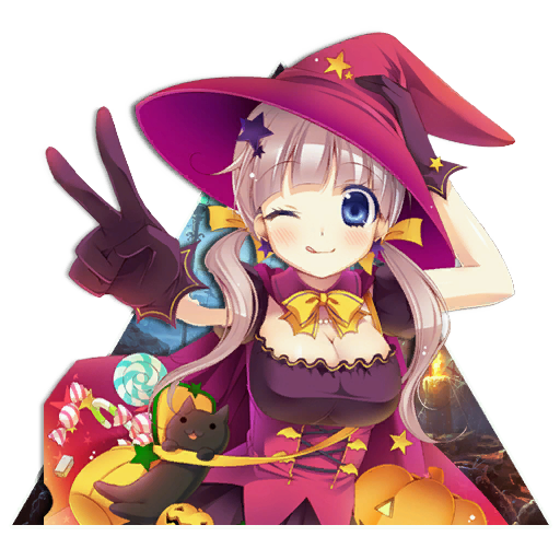 Cute Halloween Girl Spray preview