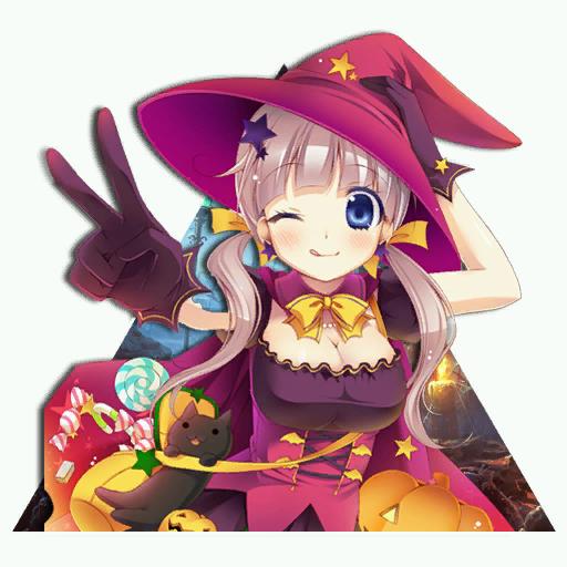 Cute Halloween Girl Spray