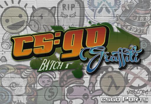 CS:GO Graffiti (Batch 1)