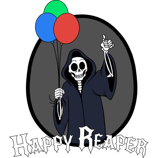 Tim Reaper (Transparent Back.)
