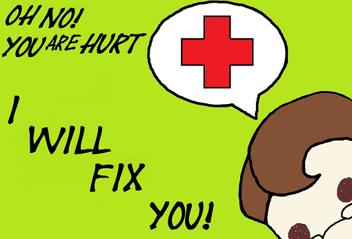 Chibi Medic will fix you! Spray preview