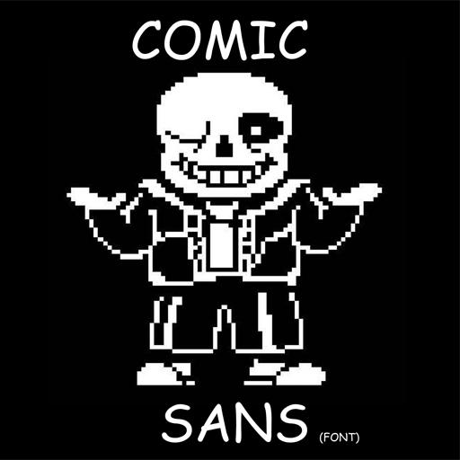 """Comic """"Sans"""" Spray preview"""