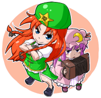 hong meiling & Patchouli knowledge
