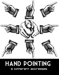 Hand pointing pack