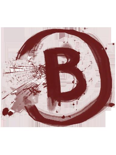 B site graffiti