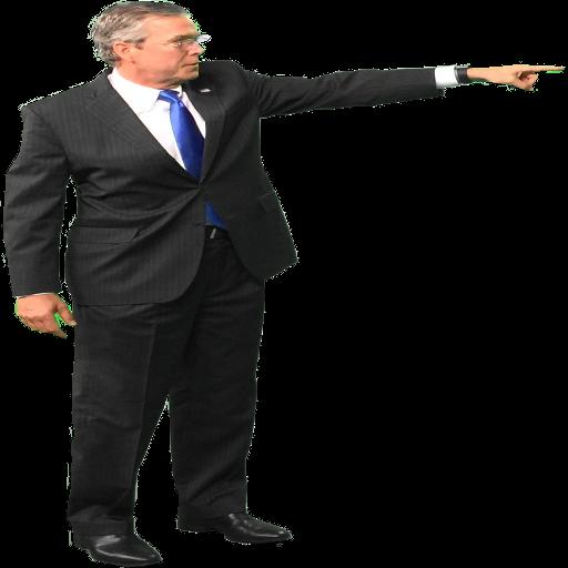 Jeb Bush Pointing