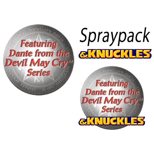 Featuring Dante & Knuckles Spraypack