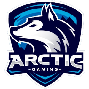 Arctic Gaming graffiti