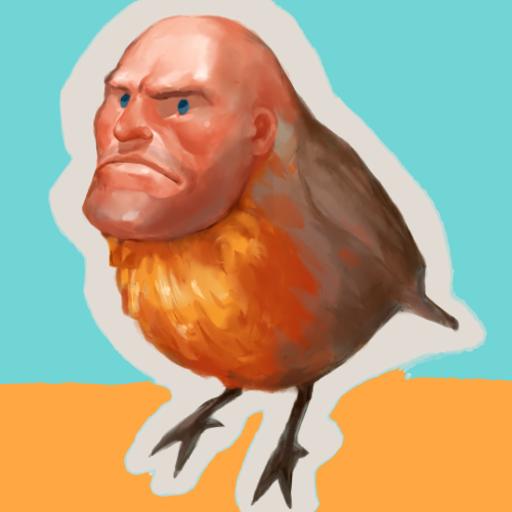 The Heavy bird