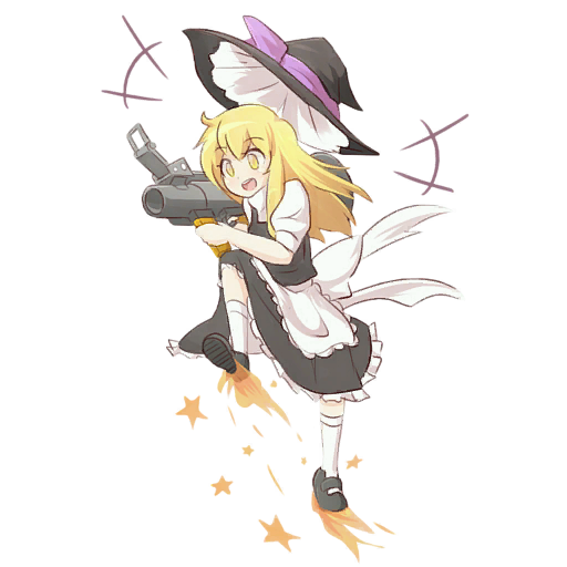 Kirisame Marisa The Soldier