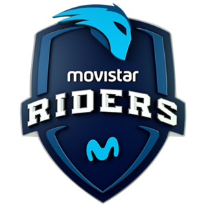 Movistar Riders graffiti