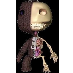 Half Sackboy Skeleton Spray