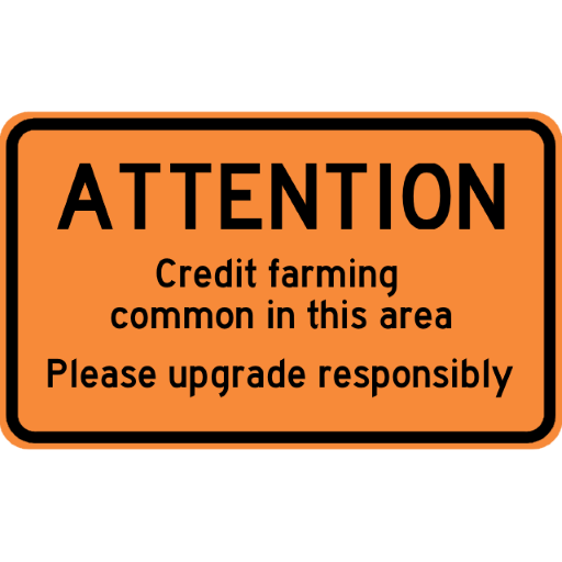 Attention: Credit Farming
