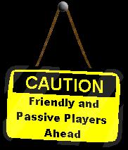 Caution Sign: Friendly