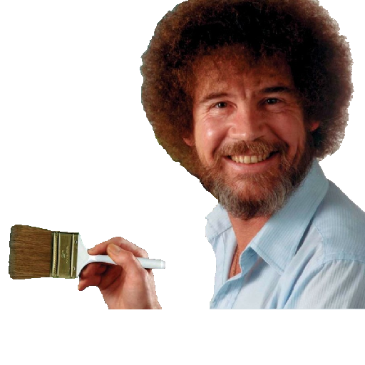 Bob Ross What Painting He Use