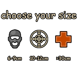 Choose your size
