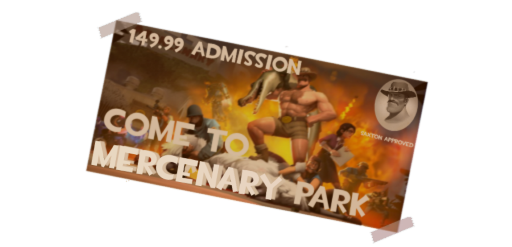 Mercenary Park Ticket