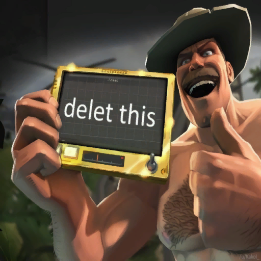 Saxton Hale delet this spray