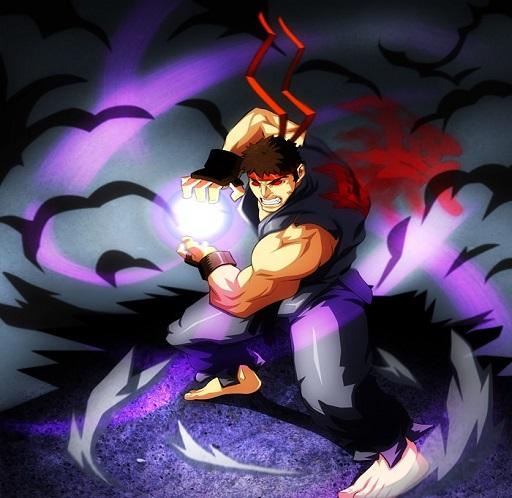 Evil Ryu Metsu Hadouken [Garry's Mod] [Sprays]