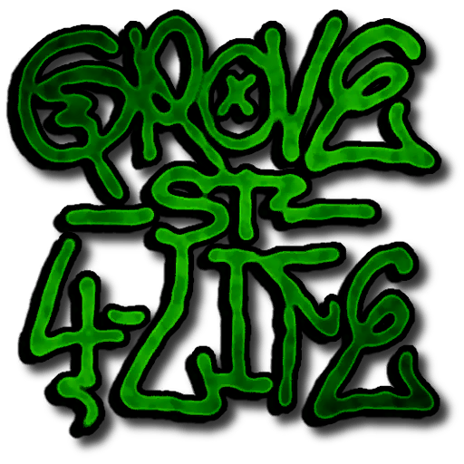 Grove Street graffiti tag