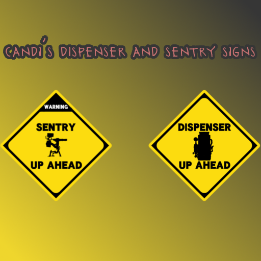 Dispenser and Sentry Up Ahead