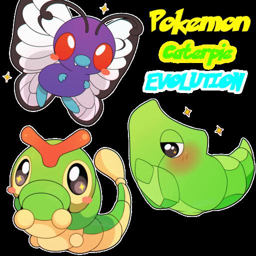 Caterpie Evolution [3 Spray Pack]