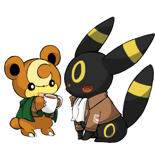 Teddyursa + Umbreon