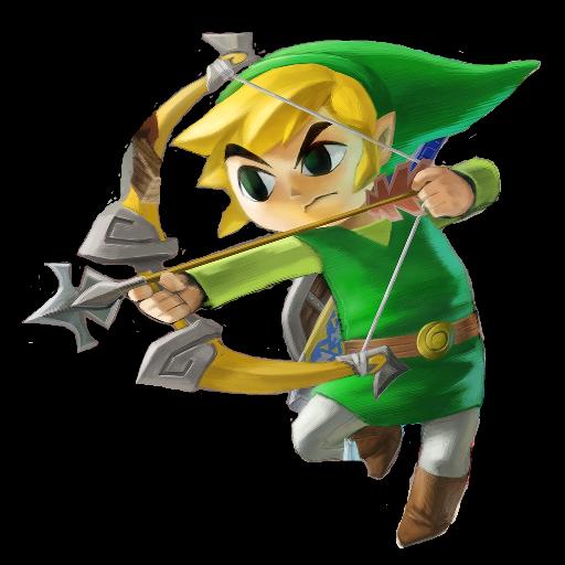 Smash Bros Toon Link Spray