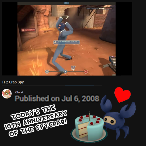 10 years ago today a legend was born