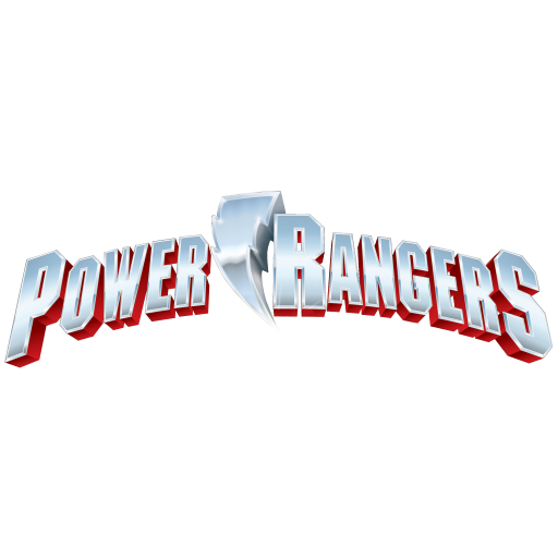 Power Rangers Title Logo (Spray Pack)