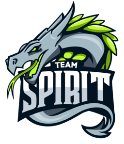Team Spirit graffiti