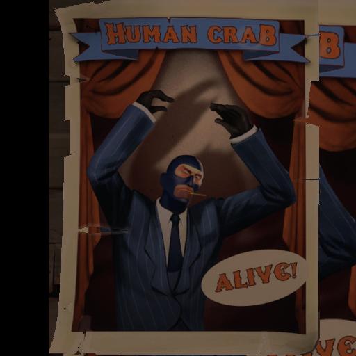 Human Crab Poster