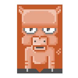 Piggy 8-bit preview