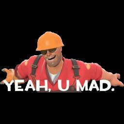 U Mad? Yeah, U mad. preview
