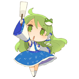 Chibi Sanae Spray preview