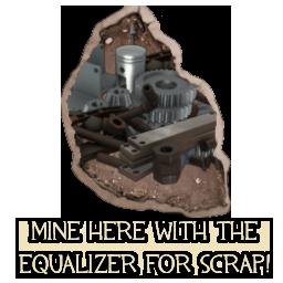 Mine for Scrap Metal
