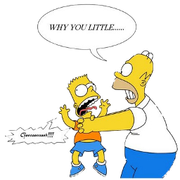 Why you LITTLE!!!